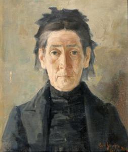 ПОРТРЕТ НА ЖЕНА -1904 г.