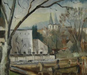 УЛИЦА В ХУНЕДОАРА , 1947 г.