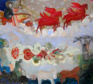 СВ. ИЛИЯ, ПОКРОВИТЕЛ НА ДЪЖДА И БОГАТАТА РЕКОЛТА 2008 г. Награда на Квадриенале 2008 г.