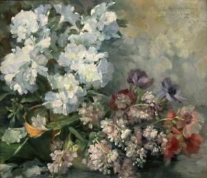 АЗАЛИЯ И АНЕМОНИЯ - 1931 г.