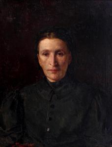 Майката на художника, 1896 г.