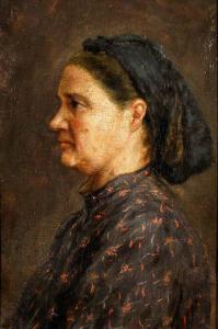 Портрет на Захаринка Евстатиева,около 1910 г.