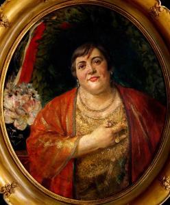 Портрет на Христина Морфова, около 1920 г.