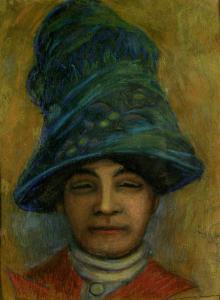 Дамски портрет,1911г.