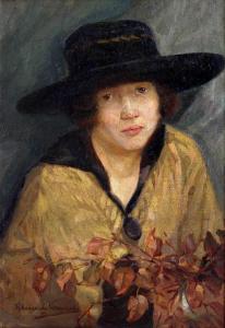 Автопортрет, 1919 г.