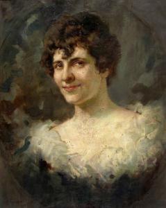 Портрет на Вера Георгиева, 1922 г.
