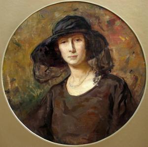 Дамски портрет, 1923 г.