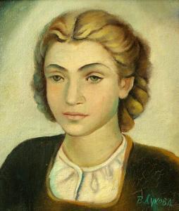 Портрет на момиче, около 1932 г.