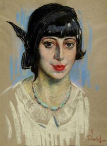 Дамски портрет, около 1932г.