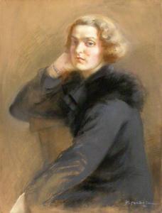 Автопортрет, 1936 г.