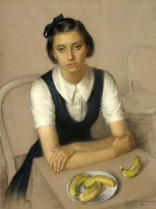 Момиче с банани, 1939 г.