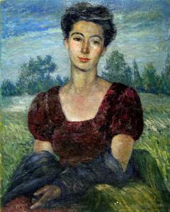 Портрет на Надя Пенчева, 1943 г.
