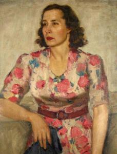 Дамски портрет, 1948 г.