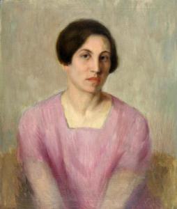 Портрет на Мария Касабова, 40-те години на 20 век