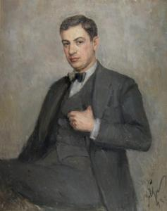 Портрет на  Хр. Ставрев - 1933г.