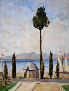 Пейзаж от Босфора - 1931 г.
