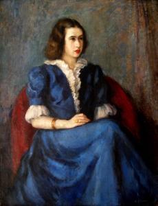 Портрет на В.Желязкова - Около 1942г.