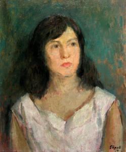 Портрет на момиче - 1959 г.