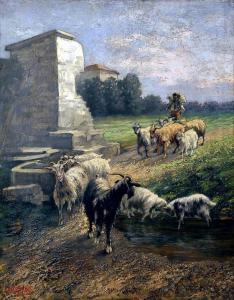 Кози -1903 г. Градска художествена галерия Пловдив