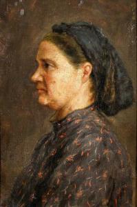 Майката на художника - 1910 г. Художествена галерия Стара Загора