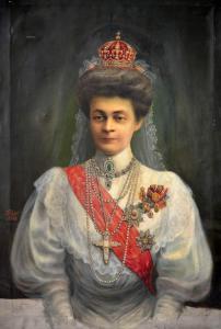 Портрет на царица Елеонора Българска - 1908 г.