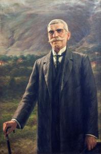 """Портрет на Иван Вазов - 1916 г. Къща-музей """"Иван Вазов"""""""