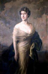 Портрет на дъщерята на Найден Геров - 1918 г. Градска художествена галерия Пловдив
