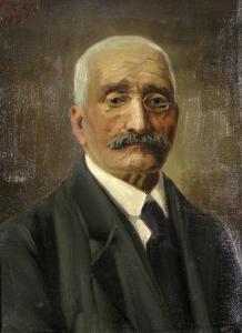 Портрет на Хаджи Вълчев - 1919г. Художествена галерия Стара Загора