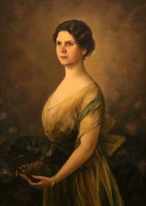 Дамски портрет - 1918г.