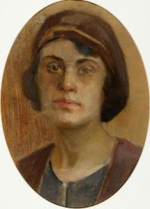 Автопортрет, 1933 г.