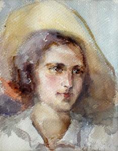Момиче, 1929 г.