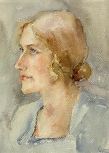 Дамски портрет, 1932г.