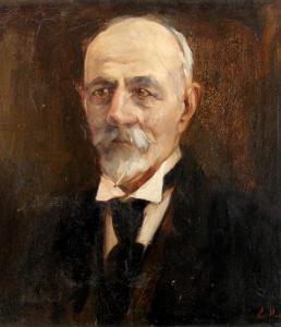 Портрет на мъж, около 1934 г.