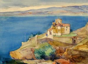 Църквата Канео край Охрид, 1941г.