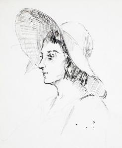 Рисунка, 50-те год. на 20 век.