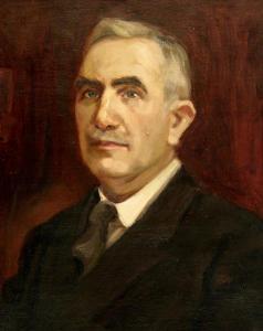 Глава на мъж, около 1934 г.