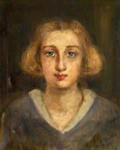 Глава на момиче, около 1932 г.