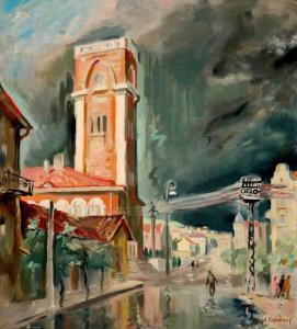 Стара Загора след дъжд - 1958 г.