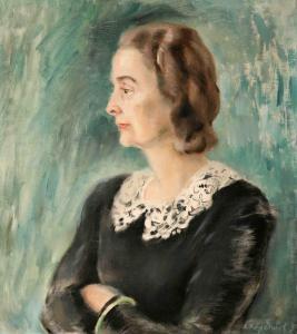 Съпругата на художника-1946 г.