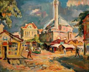 Улица в чаршията - 1960 г.