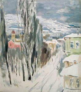 Зима в Стара Загора - 1941 г.