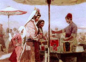 Пазар в Стара Загора -1908 г.