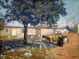 Пейзаж от Казанлък -1919 г.