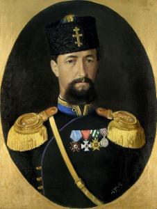 Портрет на подпоручик В.Черепов - 1887 г.
