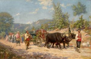 Връщане от гроздобер -1893 г