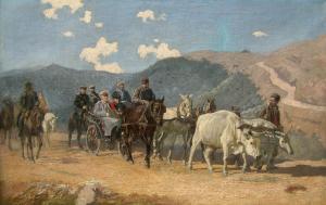 """Граф Игнатиев на връх """"Св. Никола"""" през 1902г. - 1904 г."""