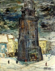 Пейзаж от Краков, 1986 г.