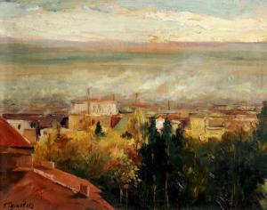 Изглед от Стара Загора, 1952 г.