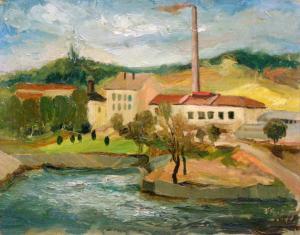 Край Стара Загора, около 1952 г.